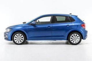 2020 Volkswagen Polo AW MY20 85TSI DSG Style Blue 7 Speed Sports Automatic Dual Clutch Hatchback
