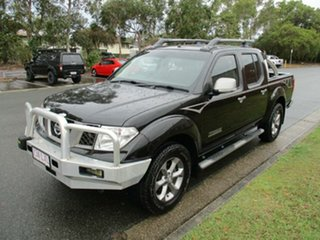 2009 Nissan Navara D40 Titanium Black 5 Speed Automatic Utility.