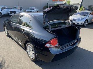 2008 Honda Civic 8th Gen MY08 VTi Black 5 Speed Manual Sedan