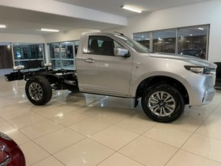 2021 Mazda BT-50 TFR40J XT 4x2 Silver 6 Speed Sports Automatic Cab Chassis