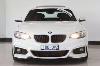 2014 BMW 2 Series F22 220i M Sport White 8 Speed Sports Automatic Coupe.