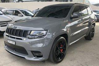 2020 Jeep Grand Cherokee WK MY21 SRT (4x4) Sting Grey 8 Speed Automatic Wagon.