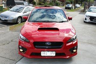 2017 Subaru WRX V1 MY17 Premium AWD Red 6 Speed Manual Sedan.