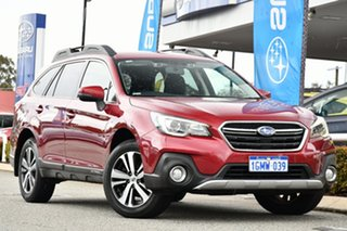 2018 Subaru Outback B6A MY18 2.5i CVT AWD Grimson Red 7 Speed Constant Variable Wagon.