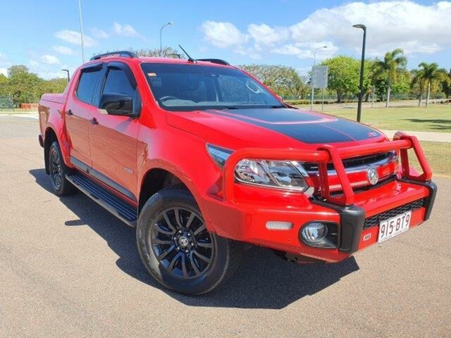 Used Holden Colorado RG MY20 Z71 Pickup Crew Cab Townsville, 2019 Holden Colorado RG MY20 Z71 Pickup Crew Cab Red 6 Speed Sports Automatic Utility