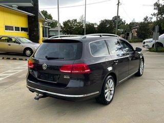2011 Volkswagen Passat Type 3C MY11 125TDI DSG Highline Brown 6 Speed Sports Automatic Dual Clutch