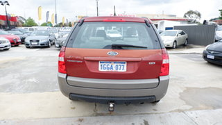 2004 Ford Territory SX TX Red 4 Speed Sports Automatic Wagon