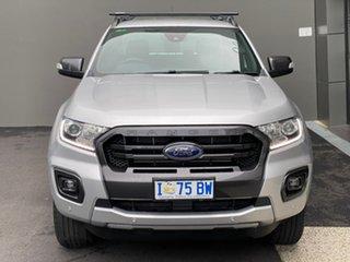 2018 Ford Ranger PX MkIII 2019.00MY Wildtrak Silver 6 Speed Manual Utility.