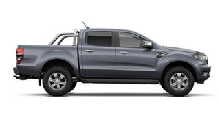 2021 Ford Ranger PX MkIII 2021.75MY XLT Meteor Grey 10 Speed Sports Automatic Double Cab Pick Up.