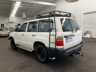 1998 Toyota Landcruiser HZJ80R Standard White 5 Speed Manual Wagon