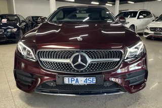 2019 Mercedes-Benz E-Class A238 800MY E300 9G-Tronic PLUS Red 9 Speed Sports Automatic Cabriolet