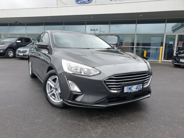Used Ford Focus SA 2020.25MY Trend Essendon Fields, 2019 Ford Focus SA 2020.25MY Trend Grey 8 Speed Automatic Hatchback