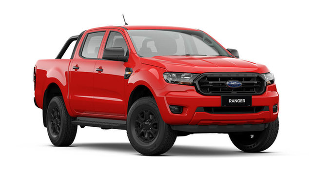 New Ford Ranger PX MkIII 2021.75MY Sport Rutherford, 2021 Ford Ranger PX MkIII 2021.75MY Sport True Red 6 Speed Sports Automatic Double Cab Pick Up