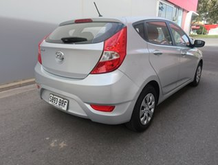 2016 Hyundai Accent RB4 MY17 Active Silver 6 Speed Constant Variable Hatchback