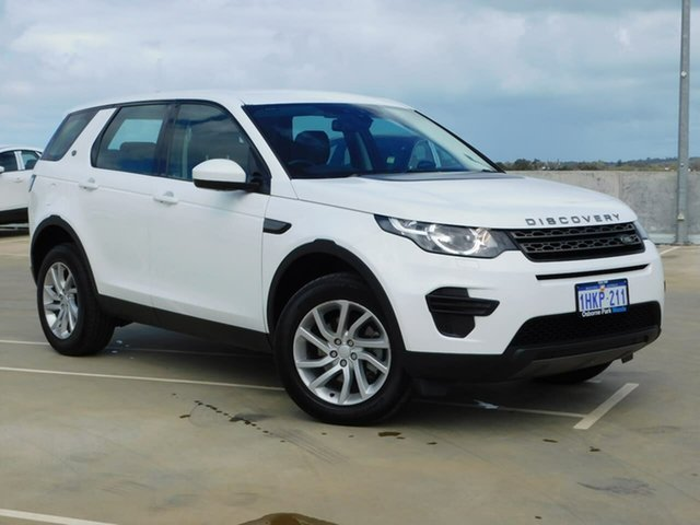 Used Land Rover Discovery Sport L550 18MY SE Osborne Park, 2018 Land Rover Discovery Sport L550 18MY SE White 9 Speed Sports Automatic Wagon