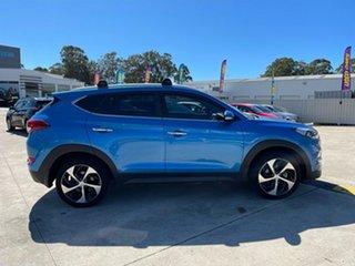 2016 Hyundai Tucson TLE Elite D-CT AWD Blue 7 Speed Sports Automatic Dual Clutch Wagon.