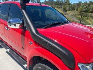 2013 Mitsubishi Triton MN MY14 GLX-R Double Cab Red 5 Speed Manual Utility