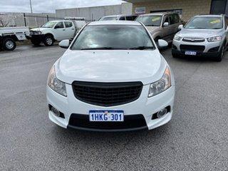 2013 Holden Cruze JH MY13 SRi V White 6 Speed Automatic Sedan.