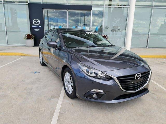Used Mazda 3 BM5478 Maxx SKYACTIV-Drive Kirrawee, 2015 Mazda 3 BM5478 Maxx SKYACTIV-Drive Grey 6 Speed Sports Automatic Hatchback