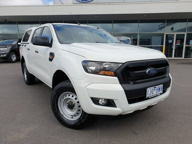 Used Ford Ranger PX MkII XL Essendon Fields, 2016 Ford Ranger PX MkII XL White 6 Speed Sports Automatic Utility