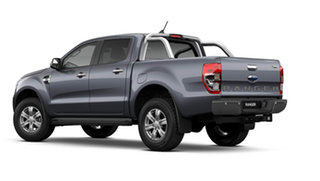 2021 Ford Ranger PX MkIII 2021.75MY XLT Meteor Grey 10 Speed Sports Automatic Double Cab Pick Up