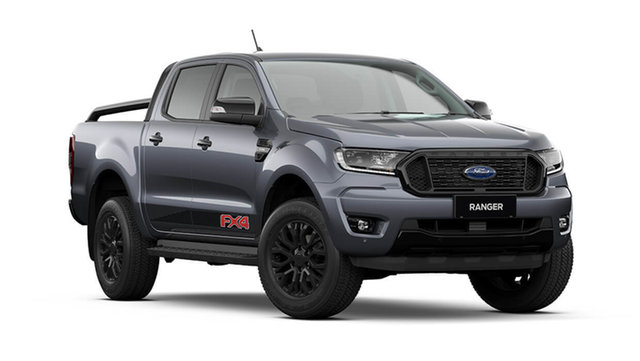 New Ford Ranger PX MkIII 2021.75MY FX4 Rutherford, 2021 Ford Ranger PX MkIII 2021.75MY FX4 Meteor Grey 6 Speed Sports Automatic Double Cab Pick Up