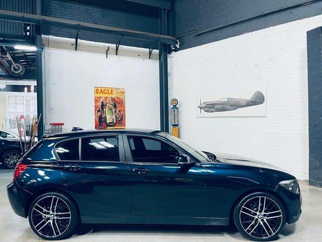 Used BMW 1 Series F20 MY0713 116i Steptronic Port Melbourne, 2013 BMW 1 Series F20 MY0713 116i Steptronic Blue 8 Speed Sports Automatic Hatchback