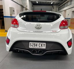 2012 Hyundai Veloster FS2 SR Coupe Turbo Pearl White 6 Speed Sports Automatic Hatchback
