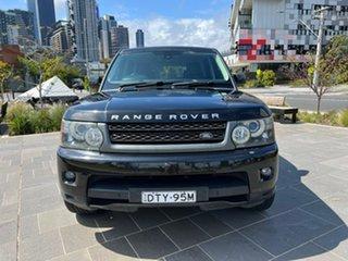 2011 Land Rover Range Rover Sport L320 11MY TDV6 Luxury Black 6 Speed Sports Automatic Wagon.