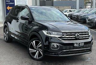 2020 Volkswagen T-Cross C1 MY21 85TSI DSG FWD Style Black 7 Speed Sports Automatic Dual Clutch Wagon.