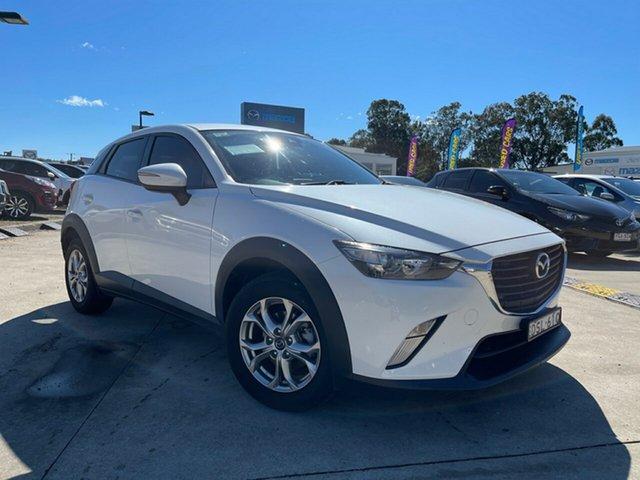 Used Mazda CX-3 DK2W76 Maxx SKYACTIV-MT Glendale, 2017 Mazda CX-3 DK2W76 Maxx SKYACTIV-MT White 6 Speed Manual Wagon