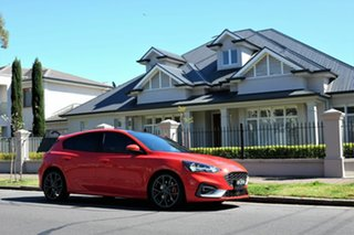 2020 Ford Focus SA 2021MY ST Race Red 7 Speed Automatic Hatchback.