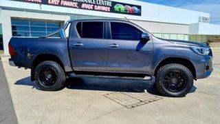 2018 Toyota Hilux GUN126R SR5 Double Cab Graphite Grey 6 Speed Sports Automatic Utility