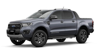 2021 Ford Ranger PX MkIII 2021.75MY Wildtrak Meteor Grey 6 Speed Sports Automatic Double Cab Pick Up