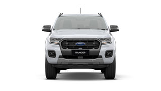 2021 Ford Ranger PX MkIII 2021.75MY Wildtrak Arctic White 10 Speed Sports Automatic