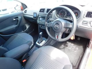 2012 Volkswagen Polo 6R MY13 77TSI DSG Comfortline Red 7 Speed Sports Automatic Dual Clutch