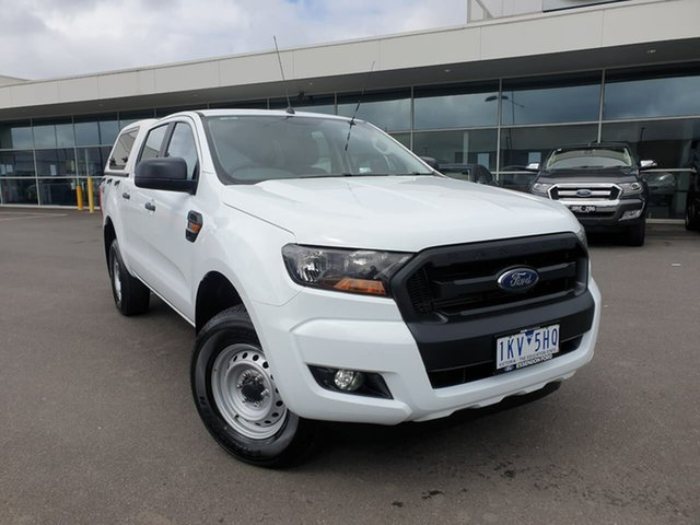 Used Ford Ranger PX MkII XL Essendon Fields, 2017 Ford Ranger PX MkII XL White 6 Speed Sports Automatic Utility