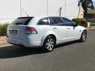 2009 Holden Commodore VE MY09.5 Omega Sportwagon White 4 Speed Automatic Wagon.