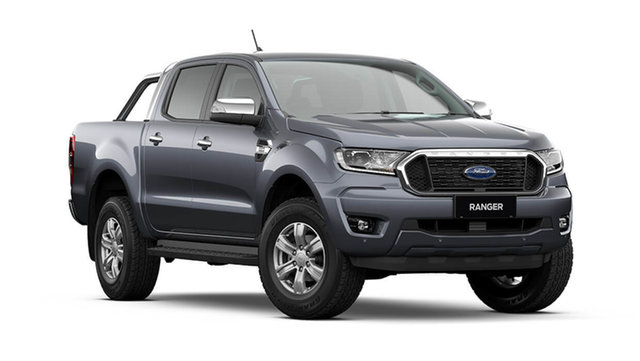New Ford Ranger PX MkIII 2021.75MY XLT Rutherford, 2021 Ford Ranger PX MkIII 2021.75MY XLT Meteor Grey 10 Speed Sports Automatic Double Cab Pick Up