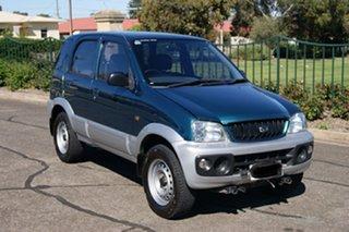 2002 Daihatsu Terios DX (4x4) Blue 5 Speed Manual 4x4 Wagon.