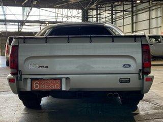 2001 Ford Falcon AU II XR8 Ute Super Cab Silver 4 Speed Automatic Utility