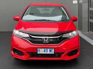2018 Honda Jazz GF MY19 VTi Red 1 Speed Constant Variable Hatchback.