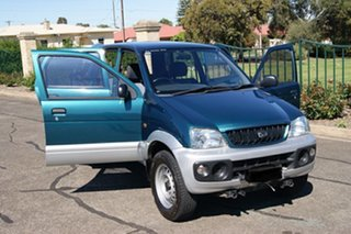 2002 Daihatsu Terios DX (4x4) Blue 5 Speed Manual 4x4 Wagon