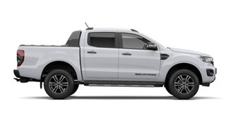 2021 Ford Ranger PX MkIII 2021.75MY Wildtrak Arctic White 10 Speed Sports Automatic.
