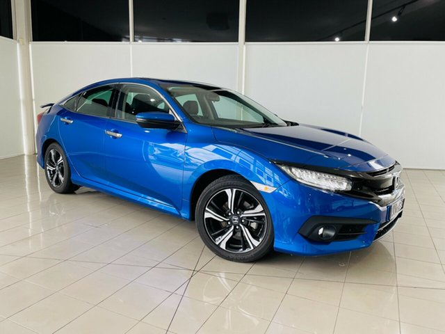 Used Honda Civic 10th Gen MY18 RS Deer Park, 2018 Honda Civic 10th Gen MY18 RS Blue 1 Speed Constant Variable Hatchback