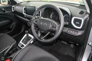 2021 Hyundai Venue Qx.v4 MY22 Elite Typhoon Silver 6 Speed Automatic Wagon