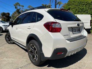 2014 Subaru XV MY14 2.0I Pearl White Continuous Variable Wagon.