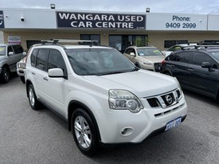 2010 Nissan X-Trail T31 MY 10 ST-L (4x4) White 6 Speed CVT Auto Sequential Wagon.