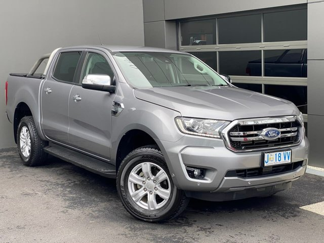 Used Ford Ranger PX MkIII 2019.00MY XLT Hobart, 2019 Ford Ranger PX MkIII 2019.00MY XLT Silver 6 Speed Sports Automatic Double Cab Pick Up