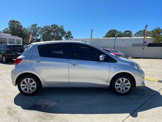 2016 Toyota Yaris NCP130R Ascent Silver 5 Speed Manual Hatchback.